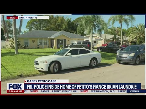 Download WATCH: FBI and police inside Brian Laundrie's home   Gabby Petito case update