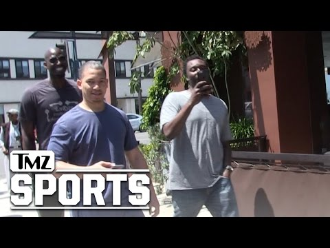 NBA's Kevin Garnett Hangin' with Ty Lue In Bev Hills