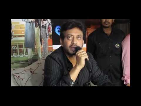 Video Irrfan Khan Promotes Hindi Medium In Kolkata Youtube