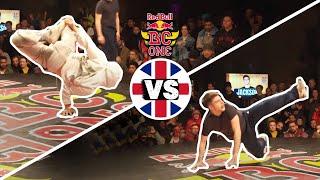 Red Bull BC One Cypher UK 2019 | Semifinal B-Boys: Infante vs. Jackson