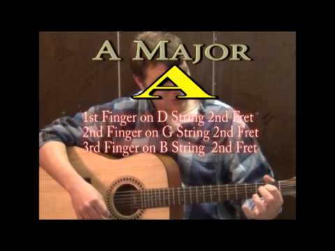 Long Haired Country Boy - Easy Guitar Lesson