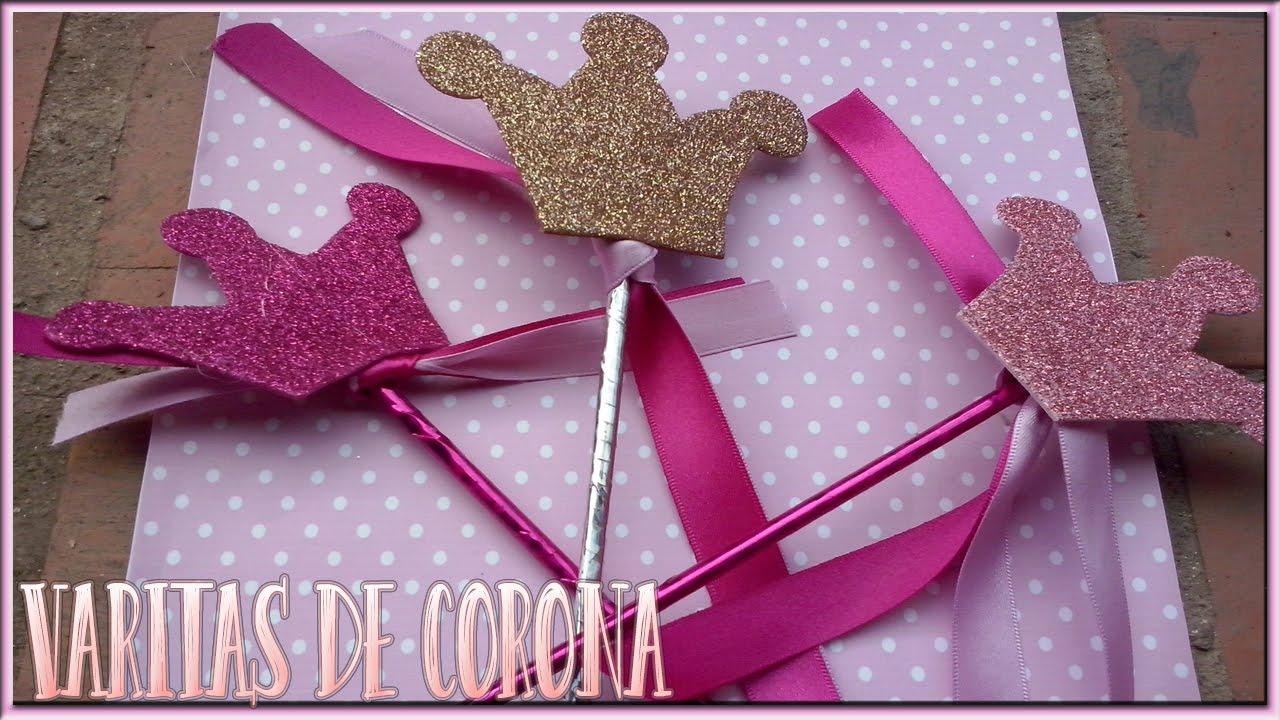Centro De Mesa Decoracion De Coronas Princesas Photoprops Youtube