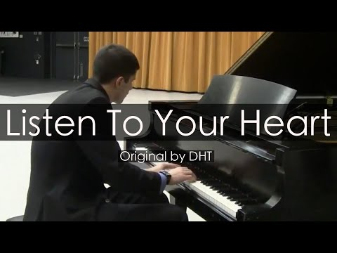 """Listen To Your Heart"" - D.H.T. (Piano Cover) - Niko Kotoulas"