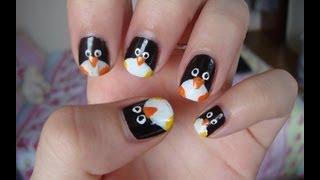 !!! Маникюр - Пингвинчик !!!