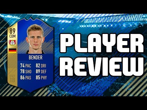 FIFA 18 - TOTS 89 RATED LARS BENDER PLAYER REVIEW!!! FIFA 18 ULTIMATE TEAM PLAYER REVIEW!!!