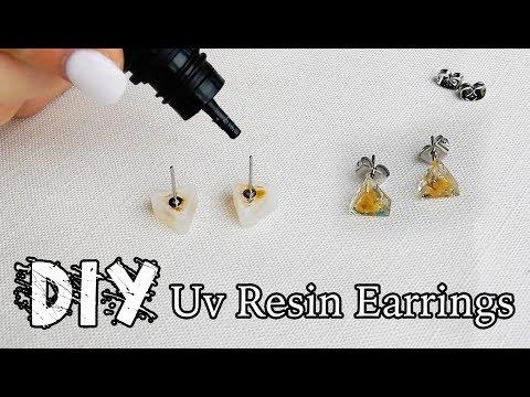 UV Resin Wattle Earrings    DIY    Tanaha Kelly