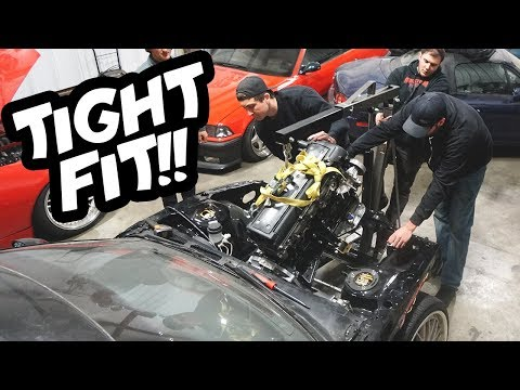 Dropping a 1JZ-GTE into my 240SX!!
