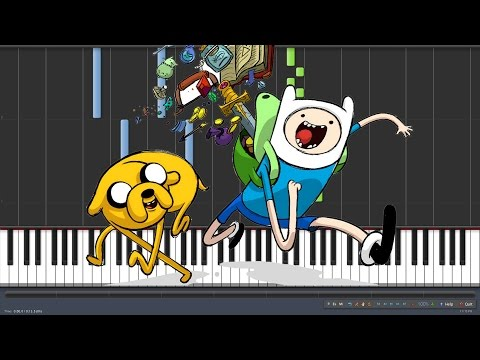 Adventure Time Intro Piano Tutorial Synthesia