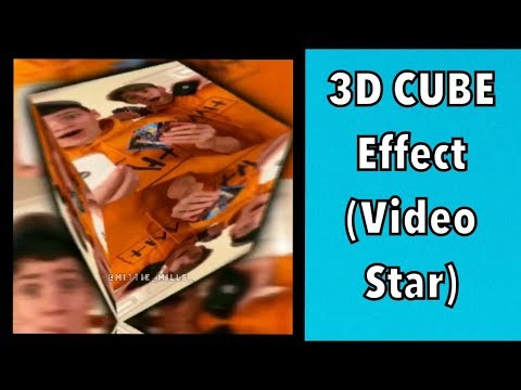 How to do the 3D cube effect! // Videostar Tutorial 🌟