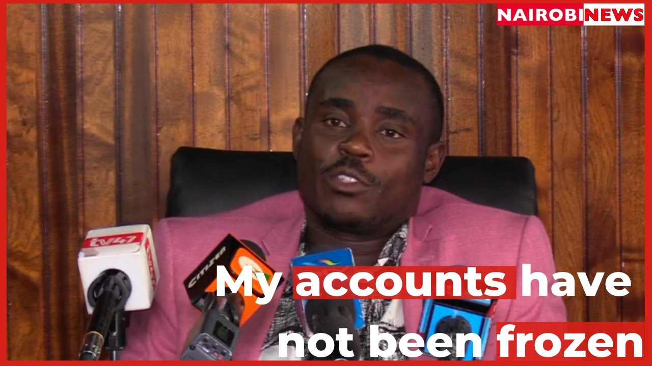 Malala: My accounts have not been frozen, KRA owes me Ksh. 324