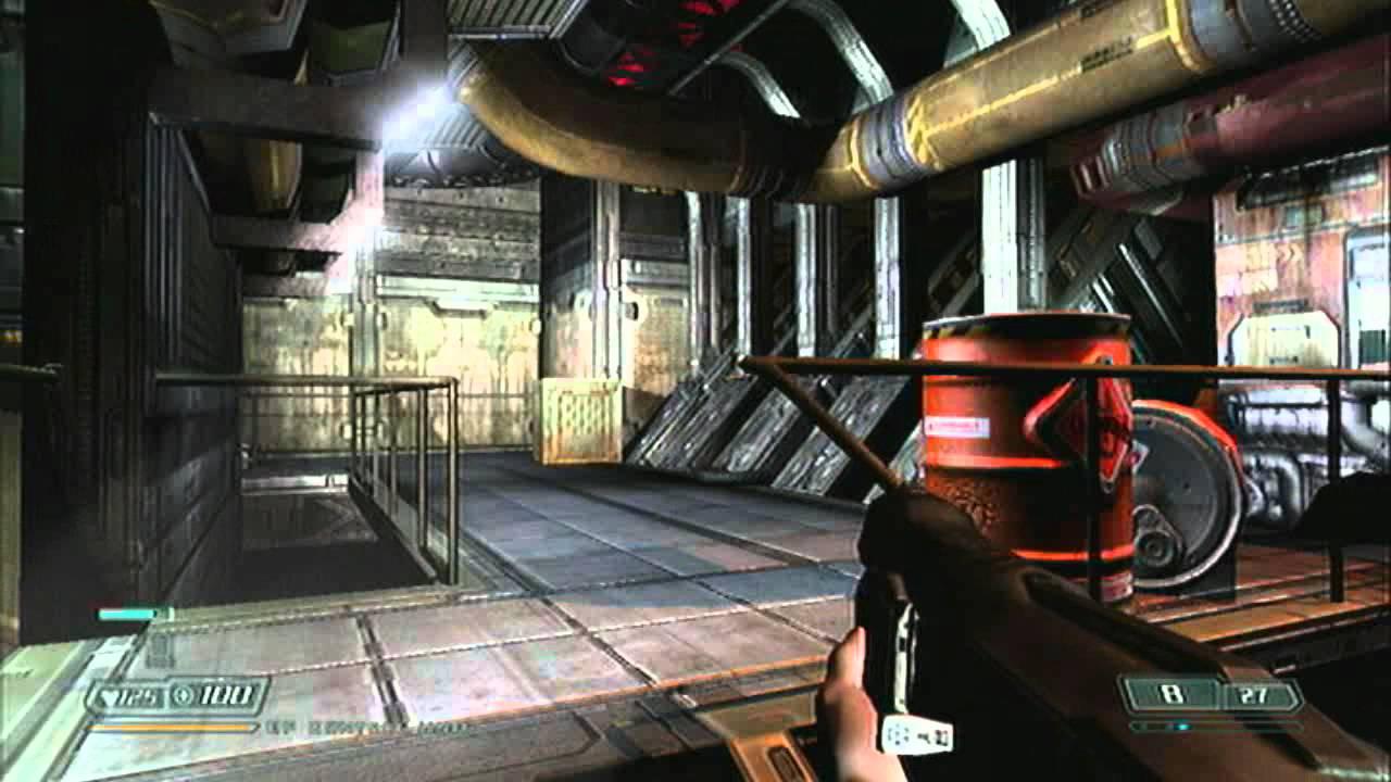 Doom 3 BFG Edition Gameplay PS3