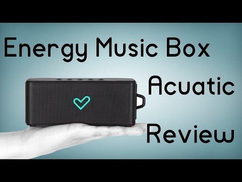 Energy Music Box Acuatic Bluetooth, Altavoz sumergible - Review en español