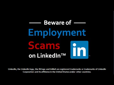 Employment Scams on LinkedIn