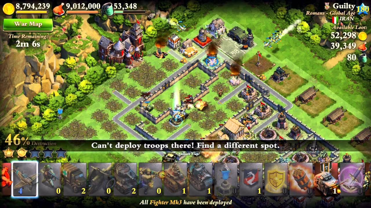 dominations troop tactics