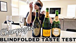 CHAMPAGNE TASTE TEST #champagne #buzzfeed