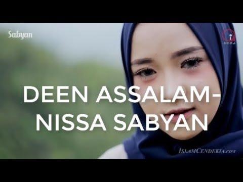 DEEN ASSALAM - NISSA SABYAN (LIRIK+KARAOKE)