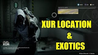 Xur Location November 17, 2017 Exotic Armor & Weapon Week 10 (One Of The Best So Far!) thumbnail