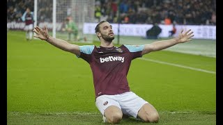 West Ham manager David Moyes hails Andy Carroll