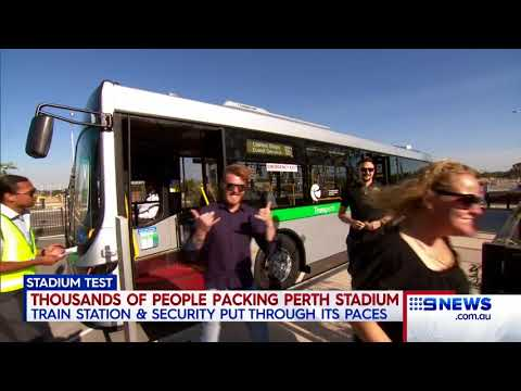 Optus Stadium | 9 News Perth