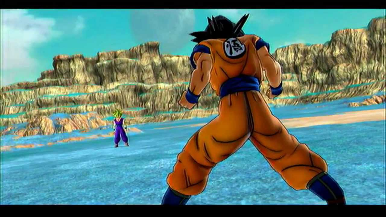 Dragon Ball Z Ultimate Tenkaichi Full Game Hd Ps3 Gameplay Team Battle Youtube