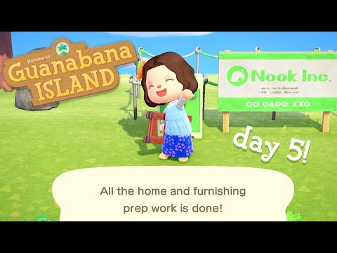 Crafting Homes In Animal Crossing New Horizons 🛠