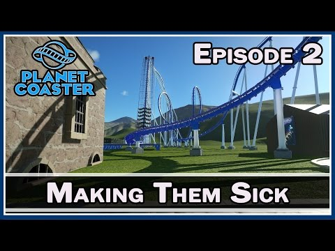 Planet Coaster :: Making Them Sick :: E2 :: Z One N Only
