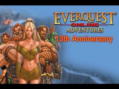 Happy 13th anniversary everquest online adventures featuring mrs nostalgia