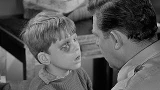 Andy Griffith Show sponsors highlights EP #14 - Opie's Black Eye