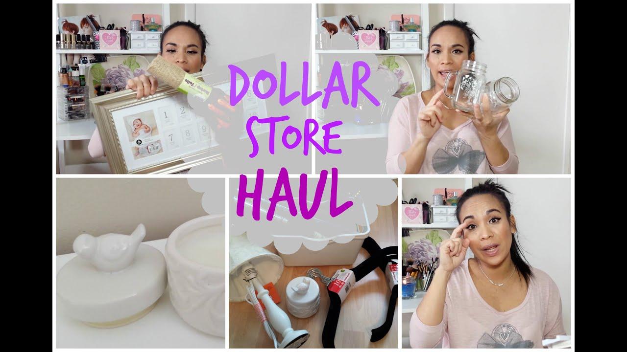 Dollar Store Home Decor Haul