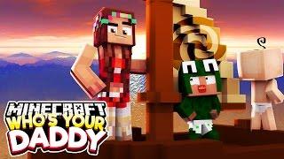 Minecraft Who's Your Daddy?  - CRASHING INTO MOANA'S ISLAND!