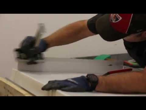 How to make zinc countertops Part 1 of 3