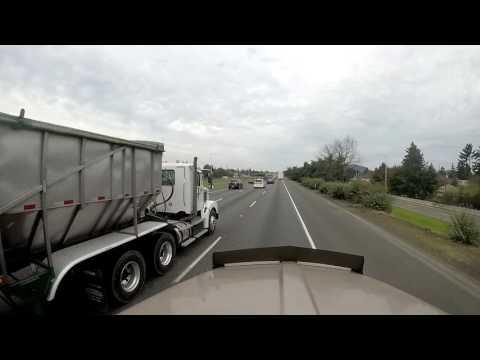 Drive I205 From Oregon to Washington