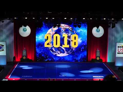 Cheerleading Worlds 2018 | Large All Girl