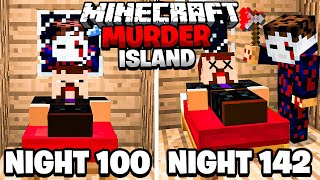 I Survived 142 Nights on a Minecraft Murder Island.. Part 2