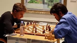 Daniil Dubov hunts Hikaru Nakamura s king
