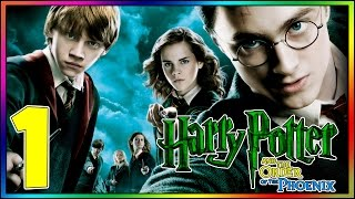 Harry Potter and the Order of the Phoenix PC - 100% Walkthrough | Part 1