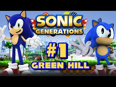 Sonic Generations PC - (1080p) Part 1 - Green Hill Zone