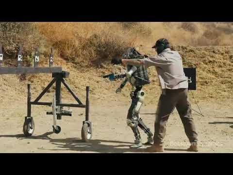 Bosstown Dynamics тестируют робота полицейского? parody part I