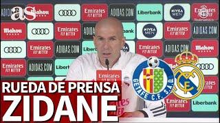 GETAFE - REAL MADRID | Rueda de prensa de ZIDANE | Diario AS