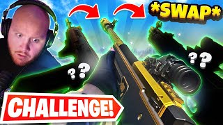 GUN GAME SWAP CHALLENGE! YOU HAVE TO PICK UP ENEMIES GUNS! Ft. Nickmercs, Cloakzy & SypherPK