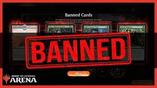BANNED CARDS! | Magic the Gathering