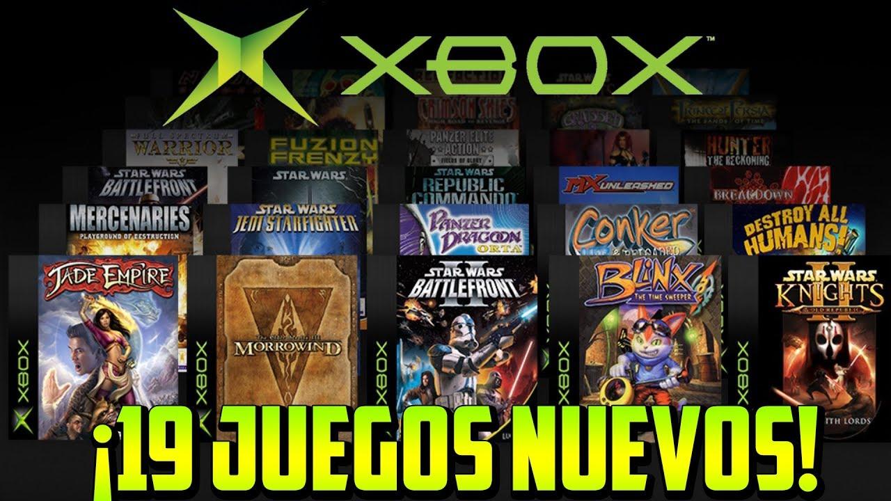 19 Juegos Nuevos Retrocompatibles Del Xbox Original En Xbox One