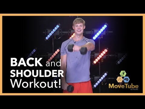 Back and Shoulder Workout with Brandon Jones!