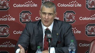 POST-GAME: Frank Martin on Western Michigan — 11/13/17