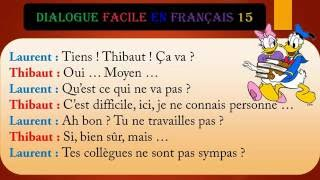Dialogue facile en français 15
