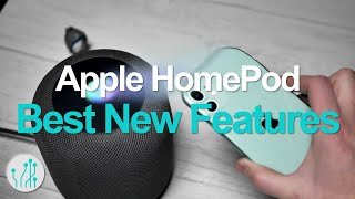 HomePod Updated with New Features