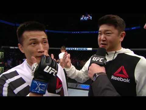 Fight Night Houston: Korean Zombie Octagon Interview