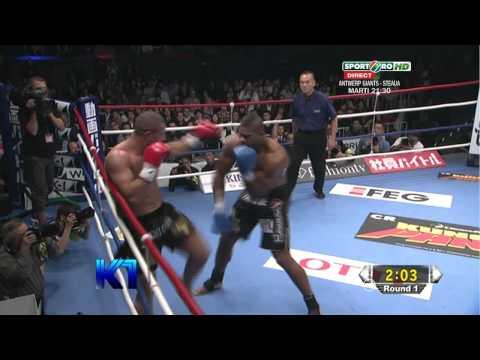 Alistair Overeem vs. Gokhan Saki - K1 World Grand Prix 2010 (Semi Final ) 1080p