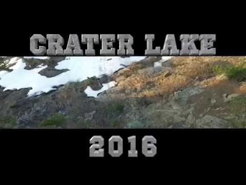 Drone Video - Crater Lake - 2016