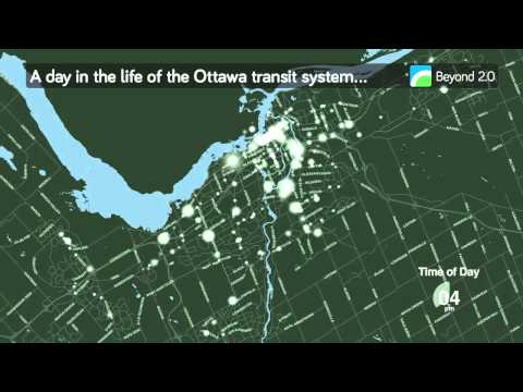 A Day in the Life of Ottawa Transit